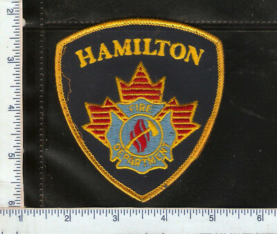 for sale, 1 vintage Hamilton Fire Deptment patch(gold) Ontario.