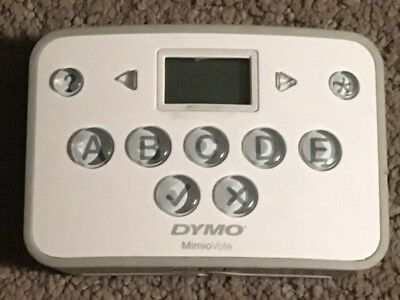 DYMO Mimio Vote  ICD05-02 Student Clickers with Battery Installed