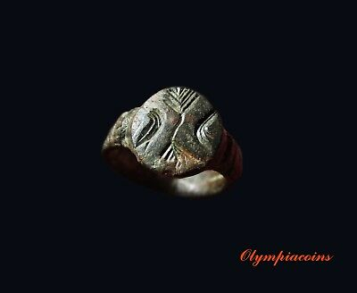 ** EXTRAORDINARY ** Small Ancient Roman Bronze  ring
