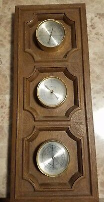 Springfield Weather Station Made In The USA With Thermometer, Barometer, And...