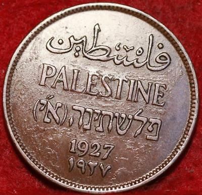 1927 Palestine 2 Mils Foreign Coin