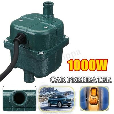 Car Engine Heater Parking Coolant Preheater 220V 1Kw 1000W 70°C Fits All