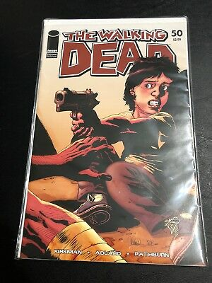The Walking Dead NM Comic Sale: Key Issue #50 Second Printing Cover Variant
