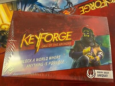 * KeyForge Call of the Archons 12 Deck Display 1st Print First Edition