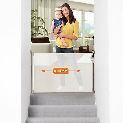 Dreambaby Retractable Gate 140cm Baby Safety Gate Security Gate Kid Toddler