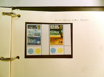 Collection of british indian ocean territory Stamps