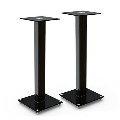 Titan AV Modern Bookshelf Speaker Stands 730mm - Pair