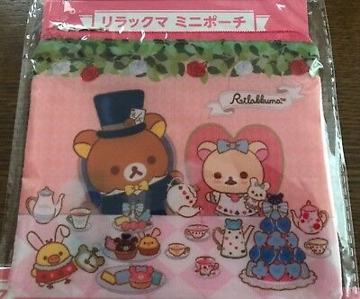 Rilakkuma mini case color pink prize in Japan, not for sale, San-x brand