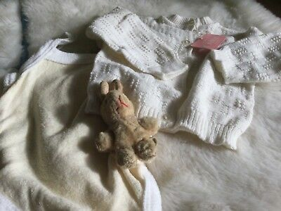 Authentic Vintage  Infant Baby Childrens Romper Suit /jumper  0/6Months Unused