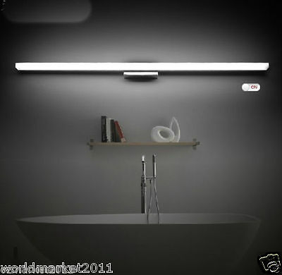Modern Minimalist Style LED Length 120CM Hotel Bathroom Mirror Front Lamp