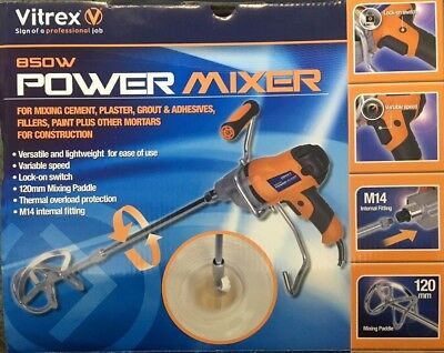 Vitrex Mix850 230v Power Mixer 850w VITMIX850
