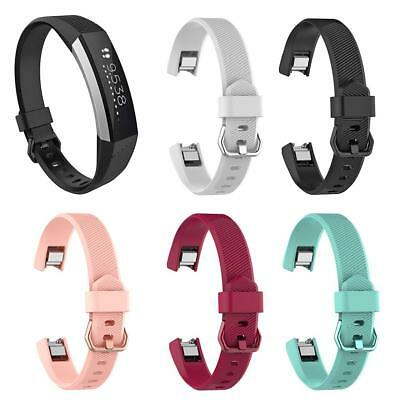 Silicone Adjustable Watch Band Bracelet Wrist Strap for Fitbit Alta HR S