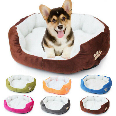 Large Pet Dog Cat Bed Puppy Cushion House Soft Plush Warm Kennel Dog Mat Blanket