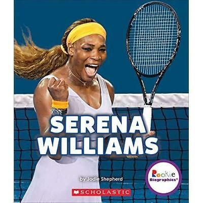 Serena Williams: A Champion on and Off the Court (Rooki - Paperback NEW Jodie Sh