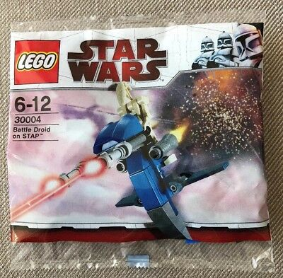 Lego Star Wars - Battle Droid On STAP Polybag - 30004 - MIP