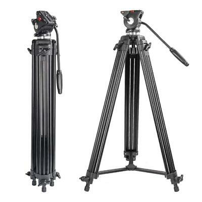 Zomei Professional 74 Inch Aluminum Video Tripod Heavy Duty for Camera Camcorder