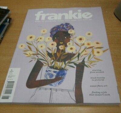 Frankie magazine #86 2018 Starting from Scratch, Sweet Fibre Art, Black Beauty