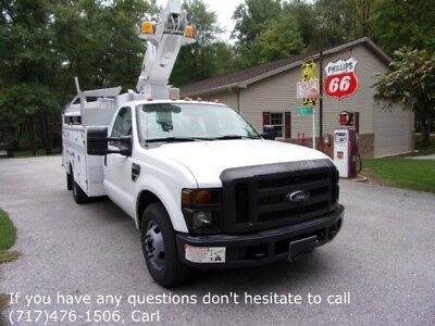 Refurbished 08 Ford F350 Bucket Truck Inspected