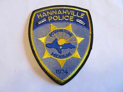 Michigan Hannahville Tribal Police Patch
