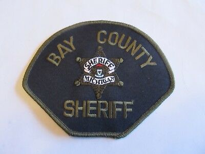 Michigan Bay Co Sheriff Patch Subdued