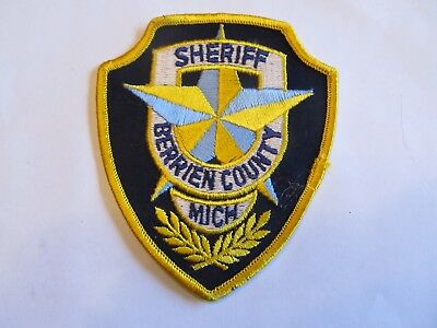 Michigan Berrien Co Sheriff Patch old Cheese Cloth