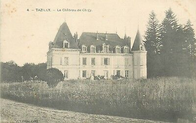 Cp Tazilly Chateau De Chigy
