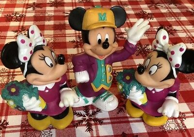 Minnie Mouse & Mickey Mouse Coin Banks