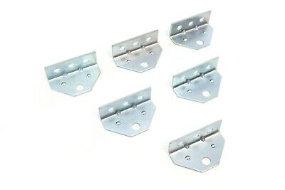 6 Top Angle Galvanized Swivel Top Angle Brackets for Bunk Brackets Boat Trailer