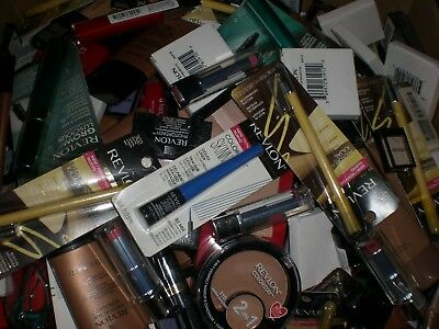 Revlon brand name makeup cosmetics mixed assorted wholesale resale Lot of 25