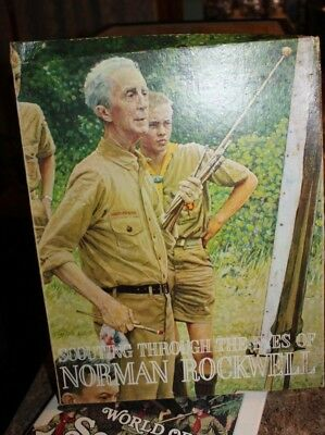 VINTAGE SCOUTING THROUGH THE EYES of NORMAN ROCKWELL Full set 44 11x14 PRINTS I2