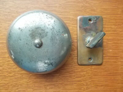 Antique Victorian Mechanical Doorbell & Copper Plated Twist  c1885 by Sargent