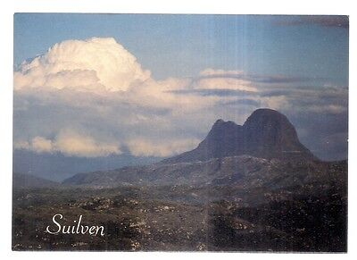 SUILVEN, mountain in SUTHERLAND, SCOTLAND unused postcard by Anne Baxter