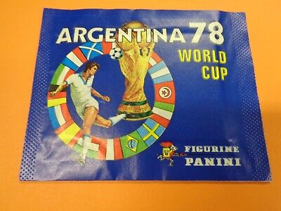 Rara Bustina Panini World Cup Argentina 78 Originale Sealed/ful