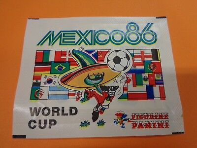 Rara Bustina Panini World Cup Mexico 86 Originale Piena/sigillata-Sealed/ful
