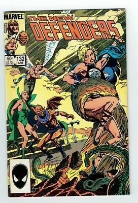 The New Defenders #132  (Marvel) 1984  Vf+