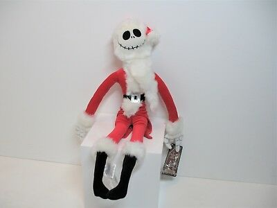 Jack Skellington Sandy Claws, Nightmare before christmas plush, santa plush