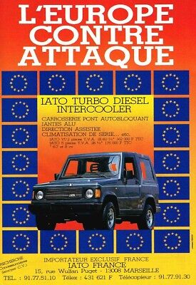 1989 IATO Turbo Diesel Intercooler (French, 1pg.) Advertisement (AAE.144)