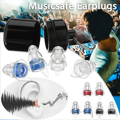 Noise Cancelling Ear Plugs Hearing Protection for Sleeping Concert Music Party B