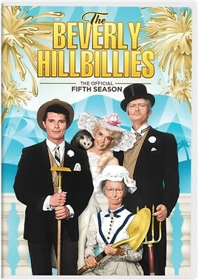 THE BEVERLY HILLBILLIES TV SERIES THE OFFICIAL COMPLETE FIFTH SEASON 5 New DVD