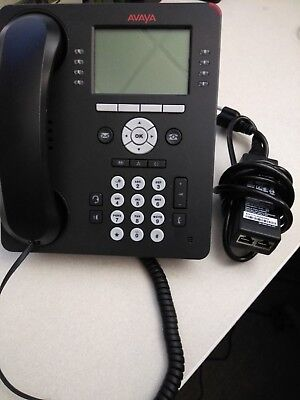40 Avaya 9608G Barely Used VoIP R19 and POE injector.. Just over a year old