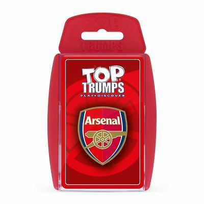 Arsenal FC Top Trumps Card Game
