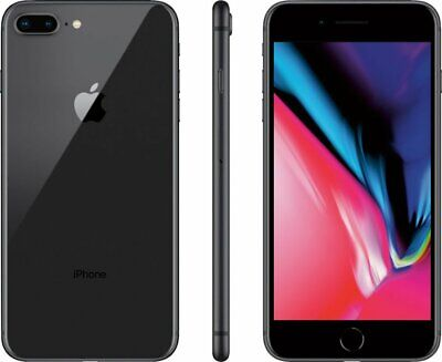 Apple iPhone 8 Plus - 256GB - Space Gray - AT&T Network Locked Smartphone