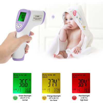 LCD numérique sans contact Thermomètre infrarouge IR Forehead surface X7F6