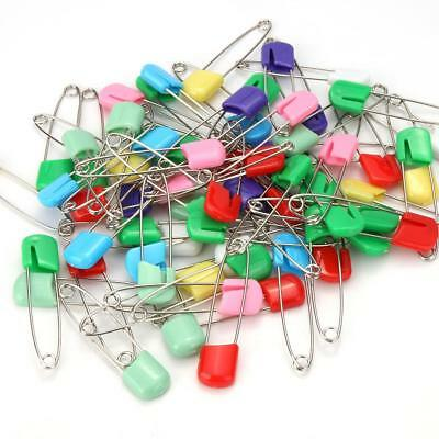 10pcs/100pcs Needles Safety Pins Sewing Brooch Holder Safe Clips for Baby Diaper