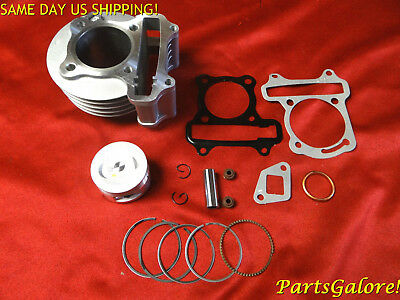 100cc 50mm Big Bore Cylinder Kit, w/ valve seals GY6 50cc Honda Chinese Scooter