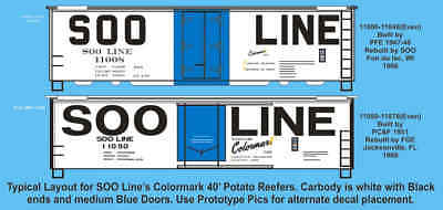 HO F-209 Canadian National 60/' Lumber Boxcar Decals by Highball Graphics CN CNR
