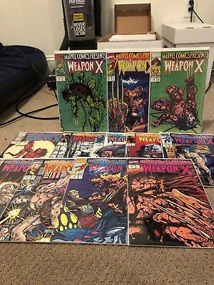 Marvel Comics Presents Weapon X Issues 73-84