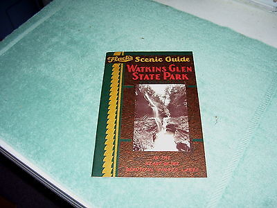 FLACK'S SCENIC GUIDE WATKINS GLEN STATE PARK NY HISTORY & PICTURES BOOKLET 1930s