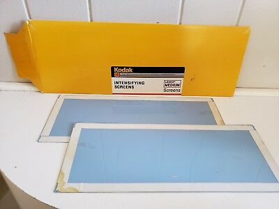 KODAK Lanex Medium 4.88 x 14.75 in Intensifying Screens / Xray Film Dentist