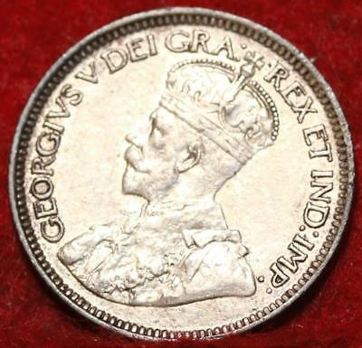 1917 Canada 10 Cents Silver Foreign Coin